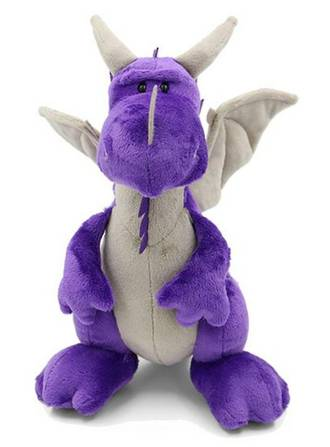 Nici Purple Dragon Standing 30CM