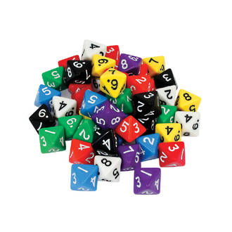 8 Sided Dice