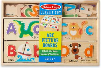 Melissa & Doug A B C Picture Boards