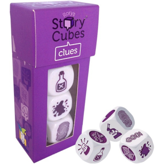 Rory's Story Cubes Clues