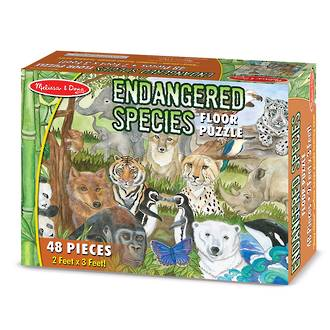 Floor Puzzle - Endangered Species