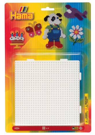 Hama Blister Pack, Large Square Shape Pegboards