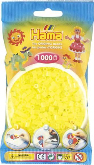 Hama Beads 1000  Neon Yellow H207-39
