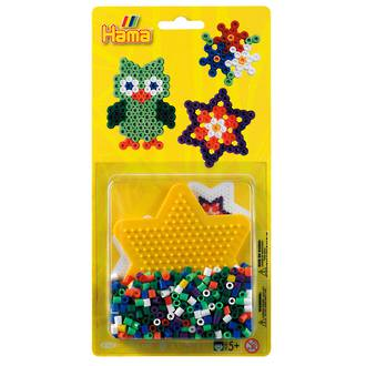 Hama Blister Kit Small Star 450 Beads H4163