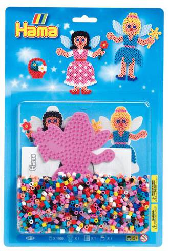 Hama Blister Kit Fairy 1100 Beads H4013
