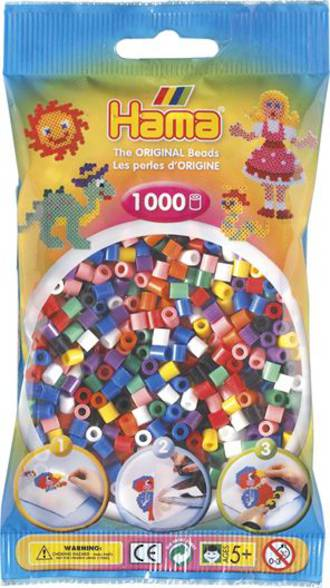 Hama Beads 1000 All Colours H207-68