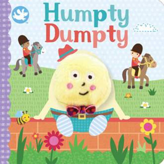 Humpty Dumpty Board Book With Finger Puppet
