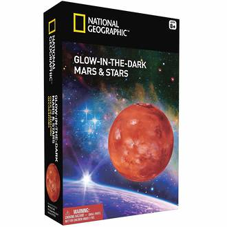 National Geographic - Glow in the Dark - Mars & Stars