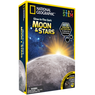 National Geographic - Glow in the Dark - Moon & Stars