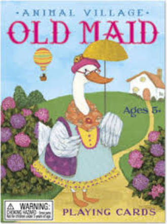 Old Maid Animal Village Playing Cards