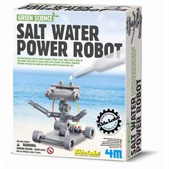 Green Science Salt-Powered Robot