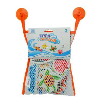 Tolo Splash Sea Life Bath Foam Stickers