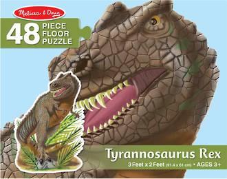 Melissa & Doug Floor Puzzle Tyrannosaurus Rex