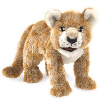 African Lion Cub Puppet - Folkmanis