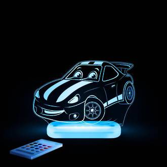 Aloka Night Light Race Car