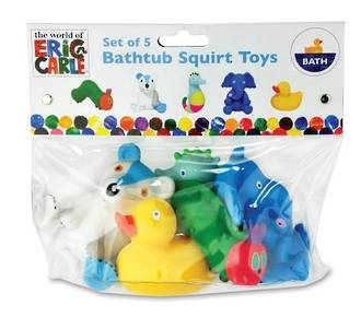 World of Eric Carle Bath Squirty Toys