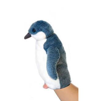 Blue Penguin Puppet With Sound