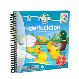 Smart Games Magnetic Travel Game Deducktion