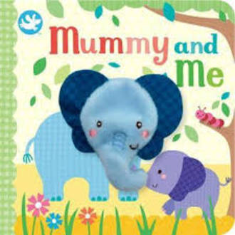 Mummy And Me Board Book With Finger Puppet