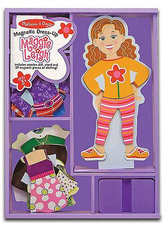 Melissa & Doug Magnetic Dress Up Maggie Leigh