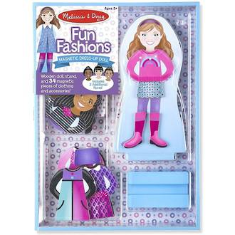 Melissa & Doug Magnetic Dress-Up Fun Fashions
