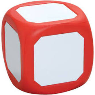 Write on dice 6 sided