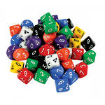 10 Sided Dice 0-9