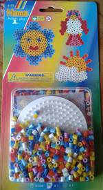 Hama Blister Kit, Circle Set, 400 Beads
