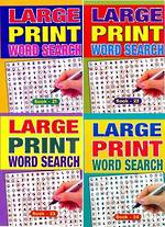 A5 Large Print Wordsearch Book