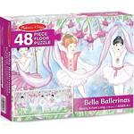 Melissa & Doug Floor Puzzle Bella Ballerina