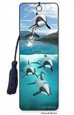 3D Bookmark - Hector's Dolphins
