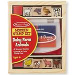 Melissa & Doug Baby Farm Animals