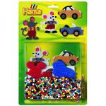 Hama Blister Kit Mouse & Car 1100 Beads H4082
