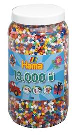 Hama Beads 13000 Bold Colours H211-00
