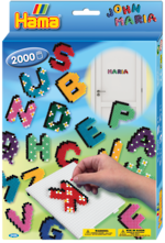 Hama Beads Letters Boxed Set 2000 Beads H3424