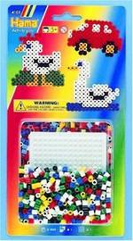 Hama Square Pegboard 400 Beads H4101