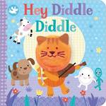 Hey Diddle Diddle Board Book With Finger Puppet