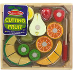 Melissa & Doug Fruit Cutting Crate