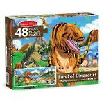 Melissa & Doug Floor Puzzle - Land of Dinosaurs