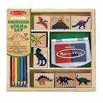 Melissa and Doug Wooden Dinosaur Stamps