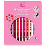 Djeco 10 Double Tipped Felt Pens for Girls