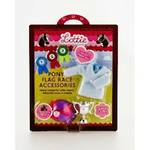 Lottie Doll Accessories - Pony Flag Race