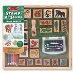 Melissa & Doug Stamp-A-Scene Rainforest