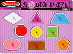 Melissa & Doug Sound Puzzle Shapes