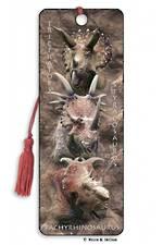 3D Bookmark - Tri-ceratops