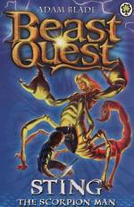 Beast Quest Series 3 - Sting The Scorpion Man