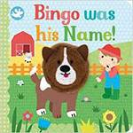 Bingo Was His Name Board book With Finger Puppet