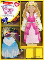 Melissa & Doug Magnetic Dress Up Princess Elise