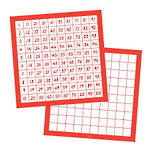 Hundreds Board Vertical   (Pack of 10)