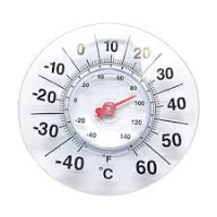 Thermometer for window-336